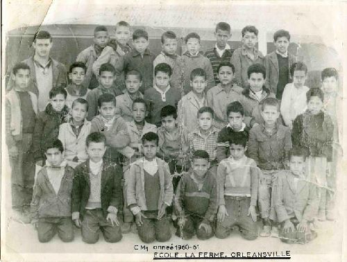 Classe de cours moyen première année 1960 – 1961