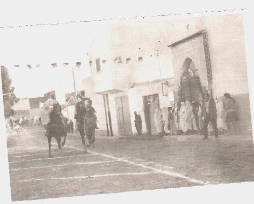 INAUGURATION DE LA MOSQUEE BENHALIMA EN 1968
