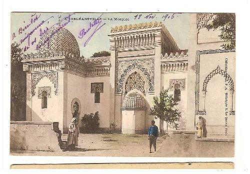 LA MOSQUEE EN 1905