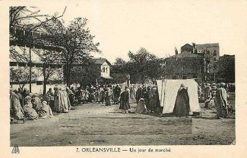 JOUR DE MARCHE A ORLEANSVILLE