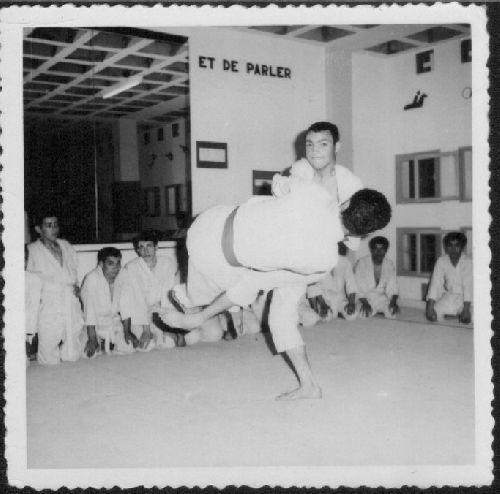 salle de judo cité nasr en 1965