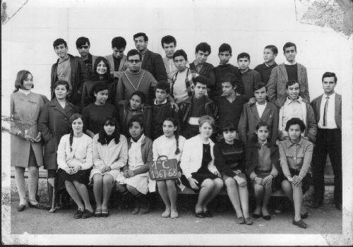 SOUVENIR DE CLASSE 1ERE C (31/01/1968