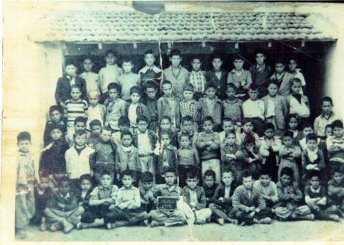 ECOLE CHETTIA CLASSE EN 1956