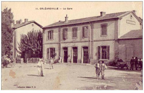 GARE D'ORLEANSVILLE