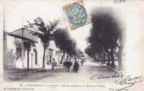 la Ferme en 1906