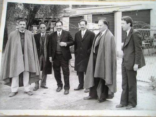 Photo souvenir avec Cheikh El-Antri-Ait Hamouda....