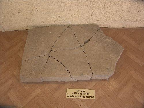 La pierre tombale de Marie de Negre d\'Ables