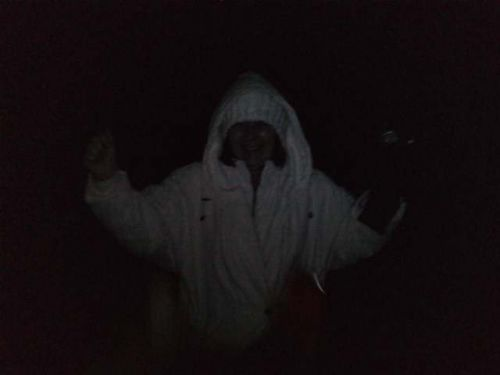 fantôme dans la nuit