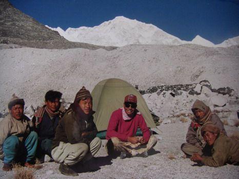 Repos non loin de Panch  Pokari (5.450 m)
