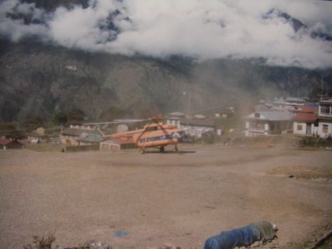decembre 1994, retour sur l\'altiport de Lukla