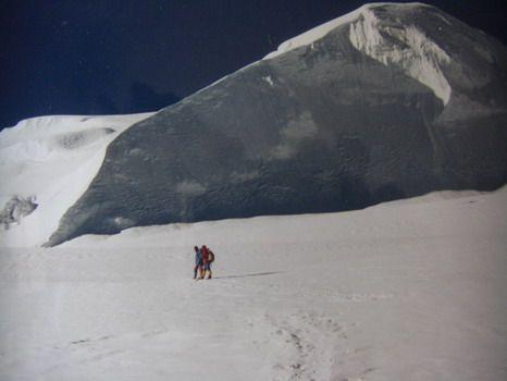 approche tranquille sous le Mera Peak