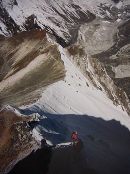 acclimatation sur un sommet secondaire