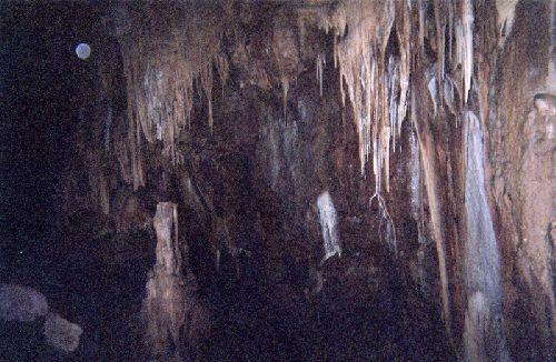 Photo originale Grotte de Lacave (Corrèze) 120 mètres de profondeur - 30 Juillet 2007 vers 18h00