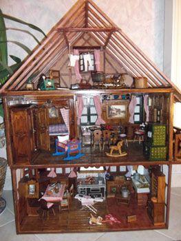Maison De Poupee Alsacienne Mini Musée Alsacien Maison De Poupée
