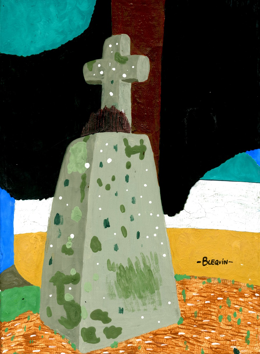 07-10-Croix et calvaires en couleurs-Croas Téo-Kermengleuz-Guilers.jpg