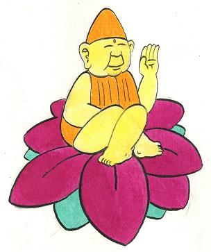 Yue Yue 02 - Le lotus et le Bouddah.jpg