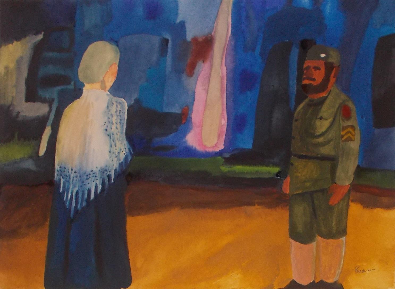 06-30-Aquarelle-Emmett et la Madelaine.JPG