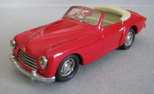Ferrari 166 export , kit résine mog