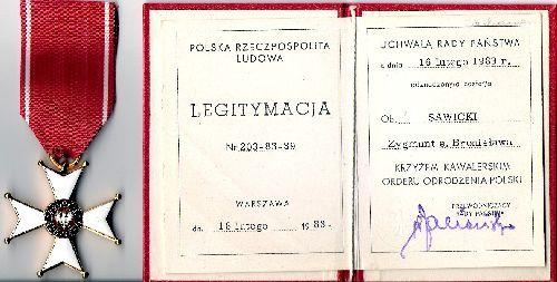 Médaille polonaise:Polonia Restituta