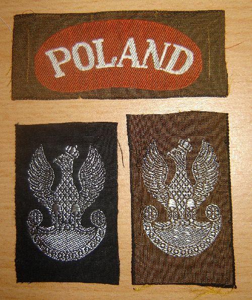 Titres et insignes de bérêts fabriqués en Allemagne