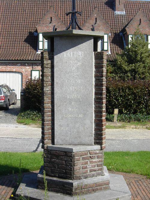 Notice explicative du monument inauguré le 3 sept 1979