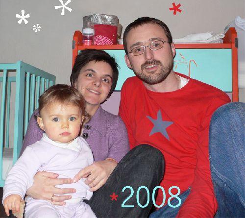 Louise et ses parents