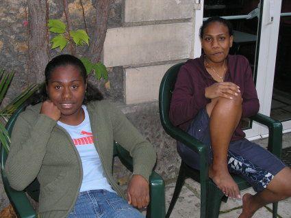 Marie-Anne et Naomi