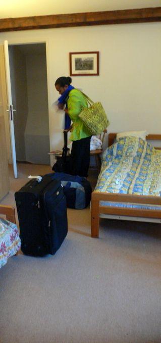 Laryssa sur le départ