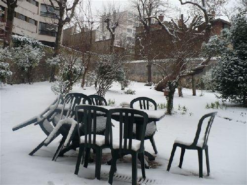Le Defap sous la neige début février
