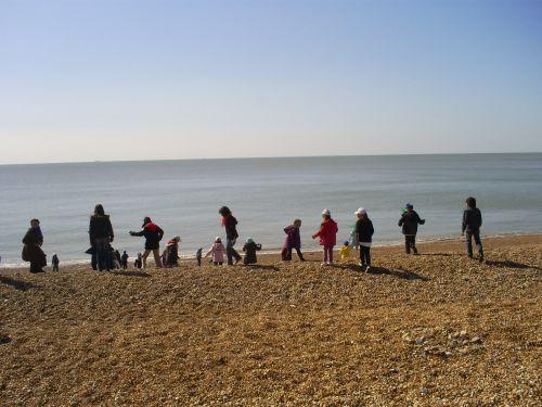 Folkestone, la plage
