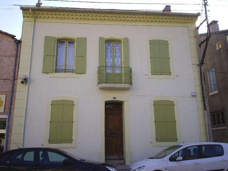 maisons aux couleurs de provence