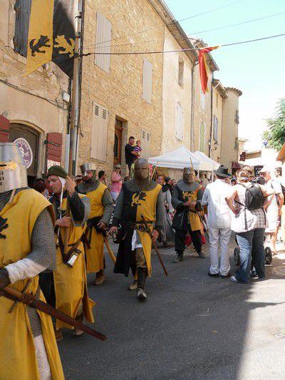 Fête de la Véraison (2012) à Châteauneuf-du-Pape