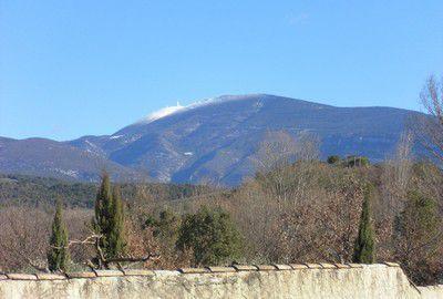 Le Mont-Ventoux enneigé (février 2013)
