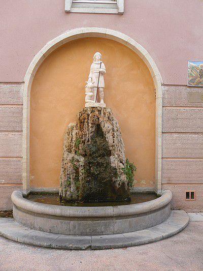 Fontaine Saint-Gens à Monteux