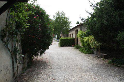 Entrée du château de Brantes à Sorgues