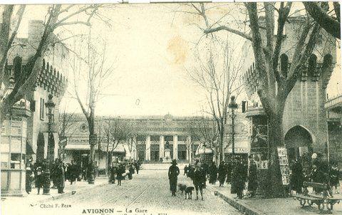 La gare à Avignon