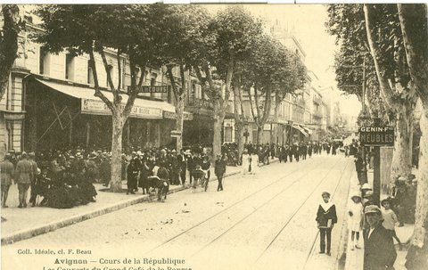 Cours de la République à Avignon