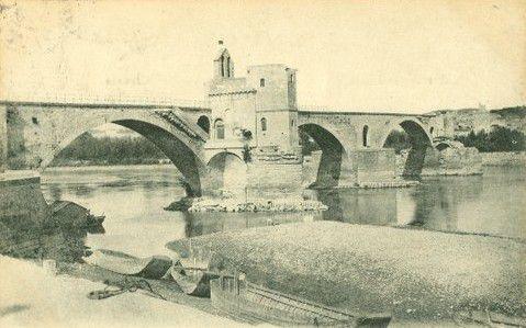 Pont Saint-Bénézet à Avignon