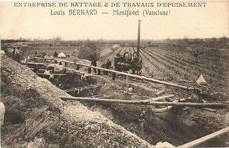 Entreprise de Battage à Montfavet