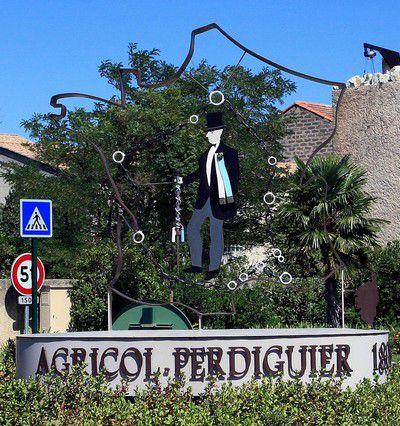 Rond Point à Morières lès Avignon