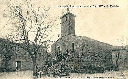 Mairie de Cairanne