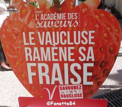 Fête de la fraise à Velleron