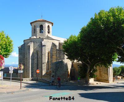 L'église de Caromb