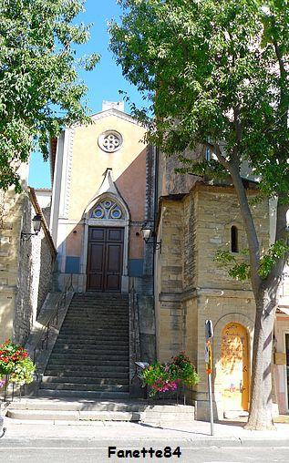 Église romane dédiée à Notre Dame des Grâces à Caromb