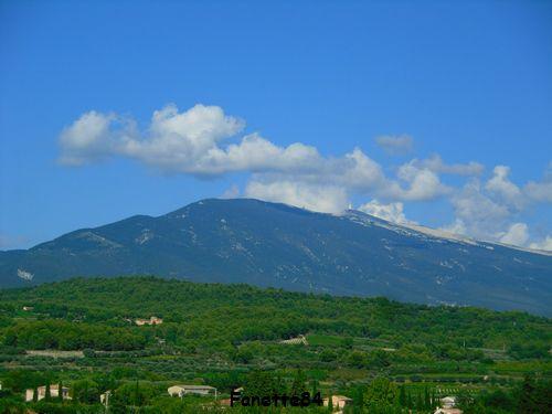 Mont-Ventoux vu de Caromb