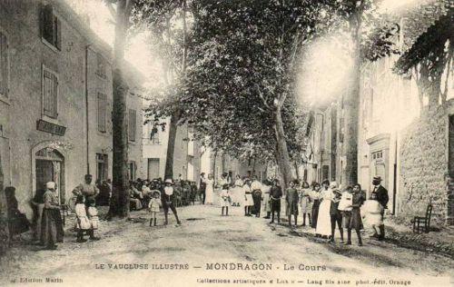 Le cours à Mondragon