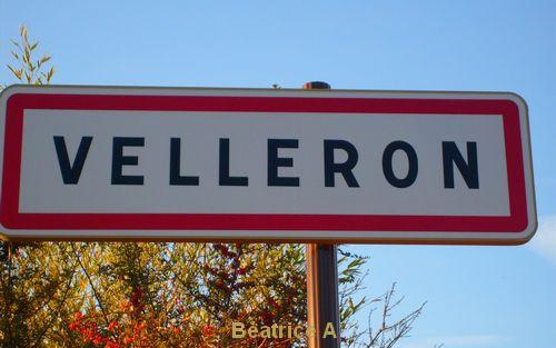 Panneau de Velleron