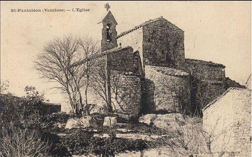 L'église de Saint Pantaléon les Vignes