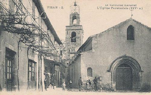 L'église Paroissiale à Visan