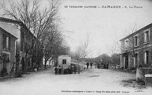 La poste à Cairanne